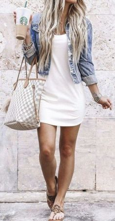 Cute Summer Outfits For Women And Teen Girls Casual Simple Summer Fashion Ideas. Clothes for summer. Summer Styles ideas Trending in Source by cuteoutfitsbynorma casual summer outfits Trend Fashion, Look Fashion, Fashion Ideas, Fashion Drug, Fashion Basics, Fashion Terms, Sweet Fashion, Fashion Hacks, Petite Fashion