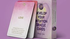 Develop Your Intuition Oracle Cards