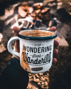 Stop wondering, Start Wandering !