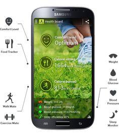 Samsung Galaxy S4 S Health