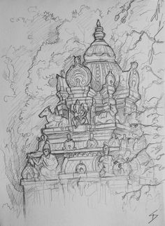 Visit the post for more. Drawing Sketches, Drawings, Religious Ceremony, Elephant Head, Karnataka, Ganesha, New Beginnings, Deities, Urban Art