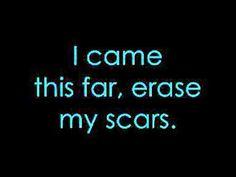 Evans blue-erase my scars