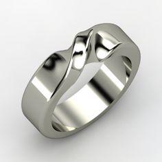 Platinum Ring | Mobius Band | Gemvara