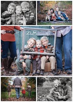 brothers, family sibling portraits (Mix Patterns Family Pictures)