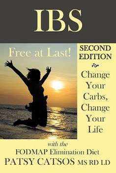 IBS – Free at Last! Change Your Carbs, Change Your Life with the FODMAP Elimination Diet - Books for IBS and the Low-FODMAP Diet #FODMAP #LowFODMAP #FODMAPDiet #FODMAPBooks #GlutenFree #DairyFree