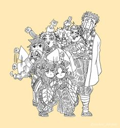 Fanarts Anime, Anime Chibi, Kawaii Anime, Manga Anime, Anime Art, Demon Slayer, Slayer Anime, Hxh Characters, Funny Anime Pics