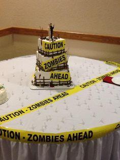 Zombie wedding cake - Imgur