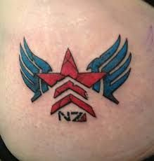 mass effect tattoo