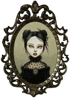 Little Miss Muffet - The Black Widow by Mab Graves. I NEED this!