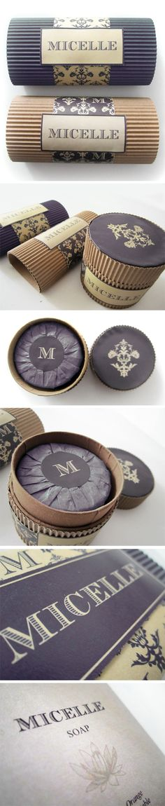 Packaging // Micelle // Soap by Maurizio Pagnozzi, via Behance