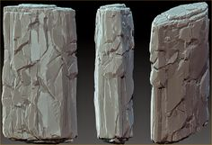 What Are You Working On? 2014 Edition - Page 413 - Polycount Forum Stone Texture, Texture Art, Texture Painting, Stone Sculpture, Sculpture Art, Environment Concept Art, Landscaping With Rocks, Environmental Art, Photo Reference