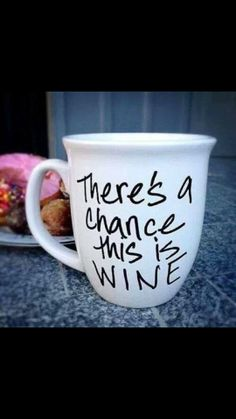 Sharpie Mug this is funny cause Alex is a wino lol