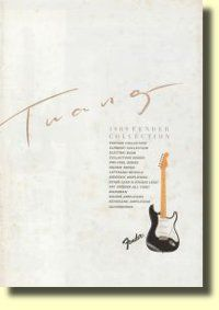 Fender Japan electric guitars catalog 1989