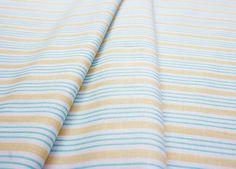 Riley Blake Song Bird Stripe Blue C2864