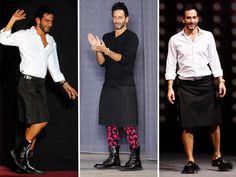 men that wear skirts -