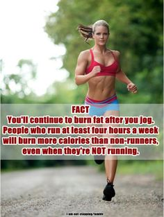 burn more calories!!