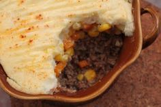 Under the High Chair: The Beef Chronicles: Shepherd's Pie with Cauliflower Purée