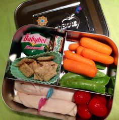 #lunchbots trio bento lunch