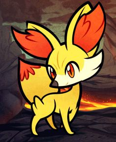 How to Draw Fennekin, Pokemon X and Y, Step by Step, Pokemon Characters, Anime, Draw Japanese Anime, Draw Manga, FREE Online Drawing Tutorial, Added by Dawn, January 9, 2013, 4:08:53 am