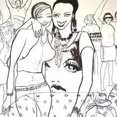Tranches de vies  Virginie Broquet, dessinatrice de presse, illustratrice, pose son regard et sa griffe chez People Act Magazine. Clin d'oeil graphique hebdomadaire dédié à l'actualité mondiale, aux dernières tendances artistiques, et urbaines.