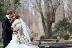 First Kiss |  | Glamorous Winter Wedding | The Jon Hartman Photography Co | Bridal Musings Wedding Blog