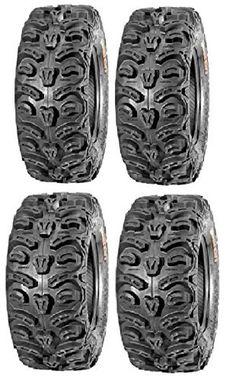 AR DONGFANG 2PCS ATV Tires 25X10X12 JK-600 Quad UTV Go Kart Tires ATV Tire 6PLY Tubeless 25x10-12