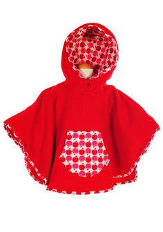 Candy Apple Poncho