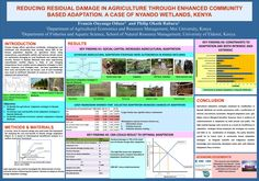 Kenya: Smallholder adaptation in the Nyando wetlands of Kenya Resource Management, Economics, Kenya, Climate Change, Agriculture, University, Posters, Science, How To Plan
