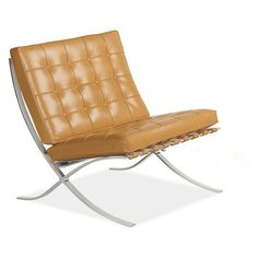 Seville Leather Chair - Chairs - Living - Room & Board