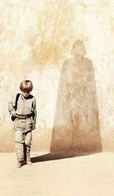 Anakin Skywalker to Darth Vader