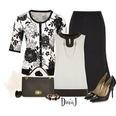Monochrome by dimij on Polyvore