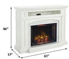 Electric fireplaces and Fireplace mantel