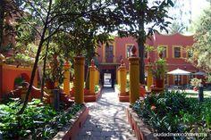 Fonoteca Nacional, Jardines de la Casa de Alvarado - Coyoacán, Ciudad de México