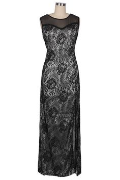 760c63c4db4 Cupshe Slice Of Life Lace Maxi Dress Robe De Broderie Florale