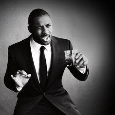 suit and tie | Idris Elba