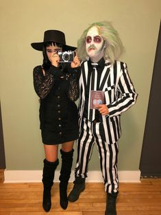 Unique Couples Costumes, Zombie Couple Costume, Scary Couples Halloween Costumes, Funny Couple Costumes, Costumes For Teens, Halloween Outfits, Diy Halloween, Halloween 2020, Costumes