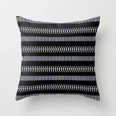 mustra v.3 Throw Pillow by trebam - $20.00