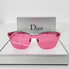 c9dbe4219f64 NWT Dior DIORCOLORQUAKE2 0MU1U1 FUSCHIA Sunglasses NEW / AUTHENTIC  Christian Dior DiorColorQuake2 0MU1U1 FUSCHIA PINK SUNGLASSES
