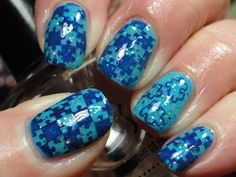 Canadian Nail Fanatic: Light It Up Blue for Autism