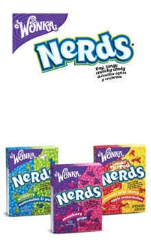 Nerds by Wonka are peanut-free.  They have a disclaimer that they may contain egg.