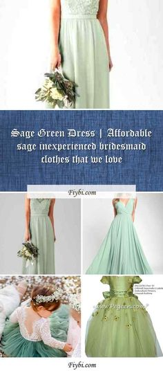 """""""Sage Green Dress, that is the subject of this title... Good afternoon my friendly follower. I have compiled these 4 Sage Green Dress pictures from 170+ different images for you. While doing this, We paid attention to the fact that there are designs that can be viral in 2020 and many more. Please click on the 'Read More' button to see the rest of the content associated to the Sage Green Dr... Sage Green Dress, Green Bridesmaid Dresses, Affordable Dresses, Dress Picture, Tulle, Rest, Content, Button, Pictures"""