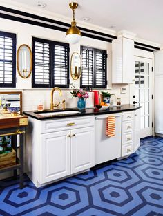 Be a little more daring with your decorating with these colorful ideas from HGTV Magazine.