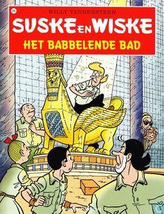 Strip - Suske en Wiske - Het babbelende bad
