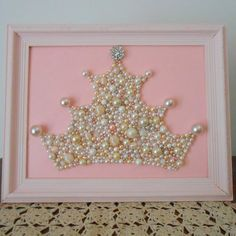 RESERVED for Angelica.Pearl princess crown art. by berryisland, $150.00