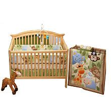 fisher price rainforest jungle stripe baby crib bedding Babies