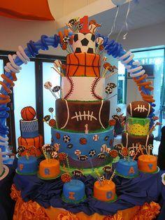Sports Cake In 2019