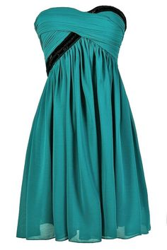 Lily Boutique Beaded Bliss Embellished Dress in Turquoise/Black, $24.9500 Turquoise and Black Dress, Teal and Black Dress, Turquoise Party Dress, Turquoise Strapless Dress, Teal Party Dress, Teal Strapless Dress, Teal Cocktail Dress, Teal and Black Party Dress www.lilyboutique.com
