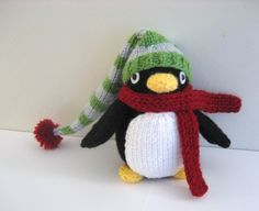 Amigurumi Knit Penguin Pattern Digital Download
