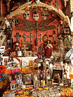 Altars: Day of the Dead #Altar.
