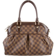 Save on the Louis Vuitton Trevi Damier Ebene Pm Brown Coated Canvas Satchel! This satchel is a top 10 member favorite on Tradesy. Sac Speedy Louis Vuitton, Louis Vuitton Artsy, Louis Vuitton Clutch, Louis Vuitton Shoulder Bag, Pre Owned Louis Vuitton, Vuitton Bag, Louis Vuitton Twist, Vintage Louis Vuitton, Conkers